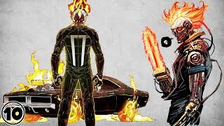 Top 10 Alternate Versions Of Ghost Rider