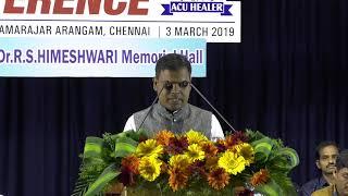 Acu Healer Balaji @ Acupuncture healers conference