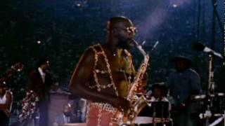 ISAAC HAYES - SOULSVILLE. LIVE FILMED PERFORMANCE 1972
