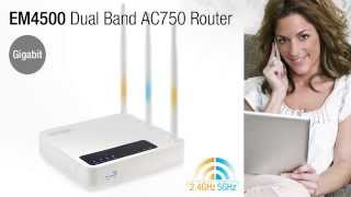 Eminent EM4500 Gigabit Dual Band AC750 Router EN