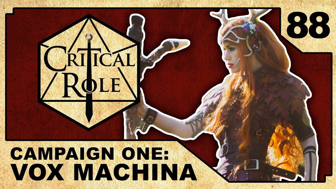 tangled depths critical role vox machina episode 88