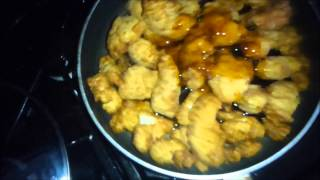 March 29 2013,,orange Chicken,mandarin Orange Sauce