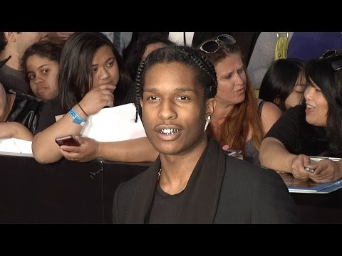 ASAP Rocky DIVERGENT World Premiere Arrivals #Rapper #Producer #AsapRocky