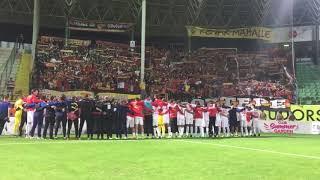 Video 238 | Alanyaspor'u Deplasmanda 1-0 Yenen Göztepe'nin İsyan Marşı ile Sevinci 📢✊