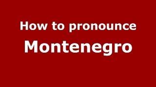 How to pronounce Montenegro (Brazilian Portuguese/São Paulo, Brazil) - PronounceNames.com
