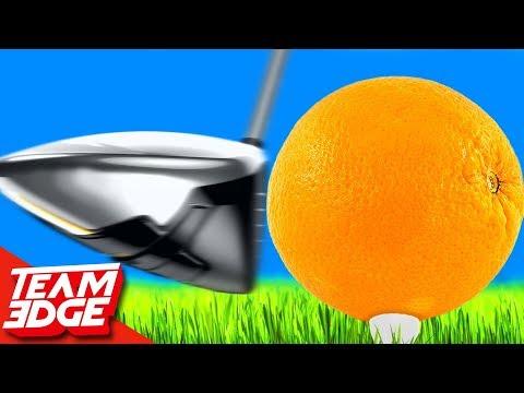Fruit Golf Challenge!!