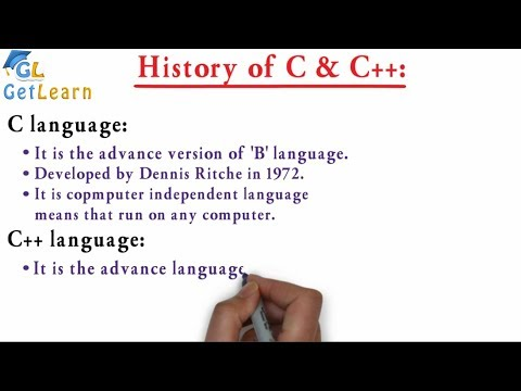 History of programming language C and C++ Short & Simple| Tutorial | C | C++ thumbnail