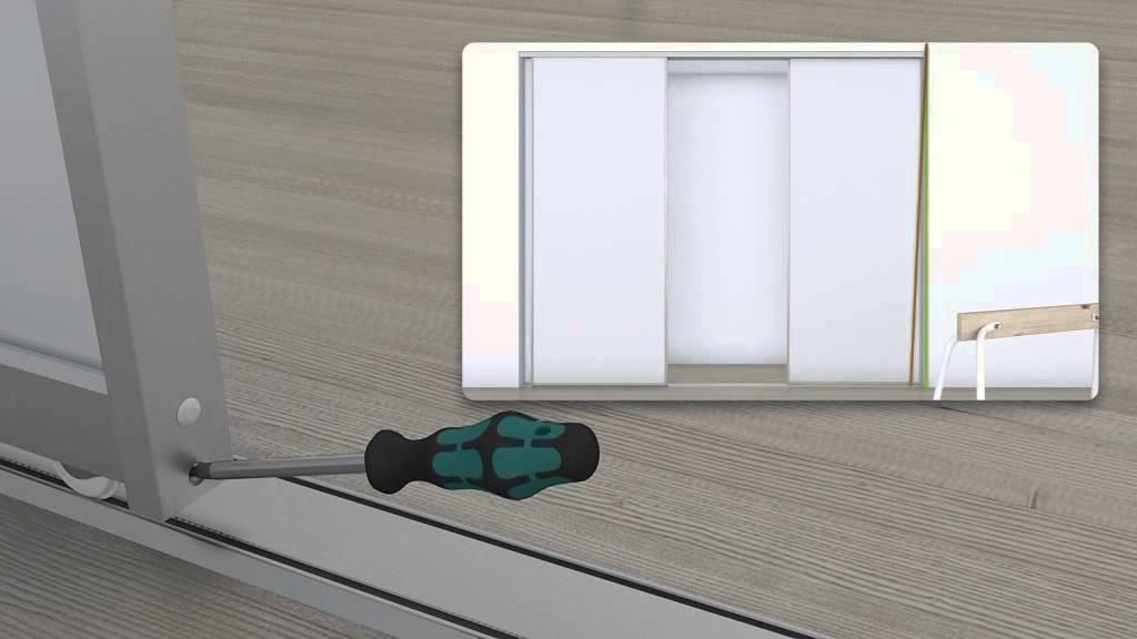 Domestic skydedøre – Bordben jern