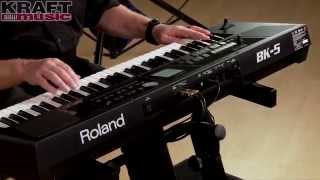 Kraft Music - Roland BK-5 Backing Keyboard Performance with Scott Berry