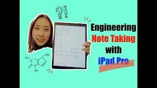 How I Organize my Notes as an Engineering Student (iPad Pro) || 미국 공대생의 아이패드로 노트필기법!! [한글자막]