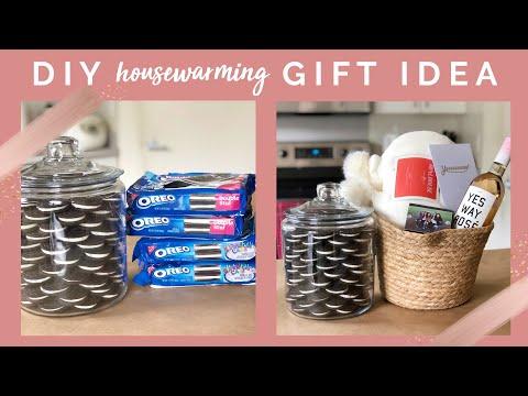 DIY House Warming Gift Idea w/ DIY Cookie Jar!