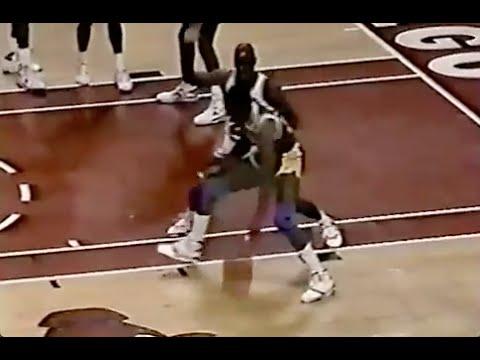 Michael Jordan Great Defense on Magic Johnson - 1989/90 Season