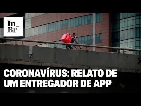 Coronavírus: como é entregar comida por aplicativos em tempos de pandemia