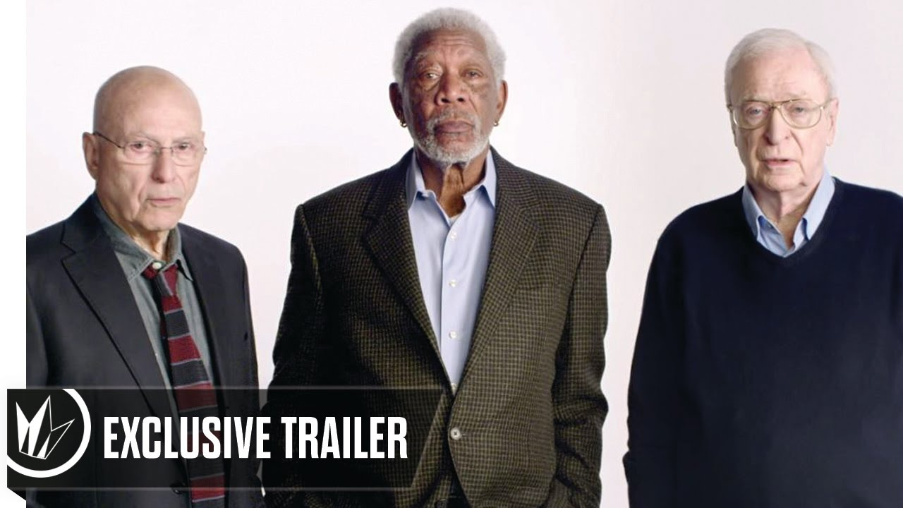 Wallpaper Going In Style Morgan Freeman Alan Arkin: Going In Style Exclusive Trailer (Morgan Freeman, Michael