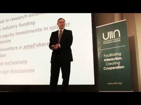 """Professor Scott Shane: """"Academic Entrepreneurship: University Spin-offs and Wealth Creation"""""""
