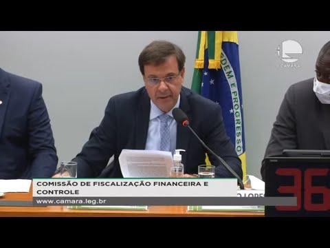 Fiscalização Financeira – Audiência com Gilson Machado, ministro do Turismo – 23/06/2021