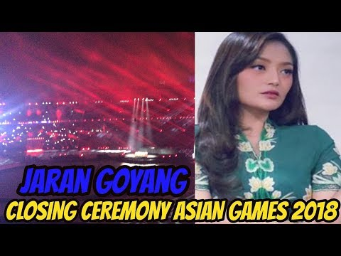 SITI BADRIAH - JARAN GOYANG  |  Closing Ceremony Asian Games 2018
