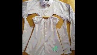 Как сделать детскую рубашку. 1 часть.