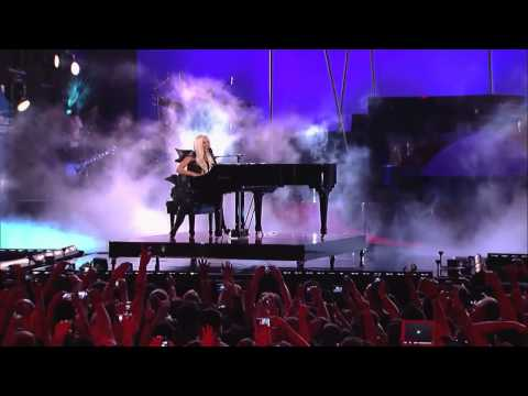 Lady Gaga - You And I Live From Jimmy Kimmel Show