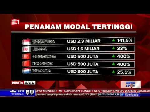 BKPM: Singapura, Investor Terbesar di Indonesia