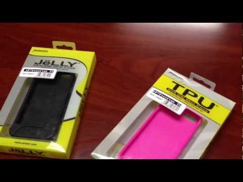 Amzer Jelly/TPU Soft Gel Case Review for iPhone 5