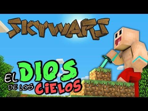 EL DIOS DE LOS CIELOS   Hacker Minecraft Skywars