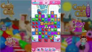 【Candy Crush Saga】Level 864/【キャンディクラッシュ サガ】レベル 864