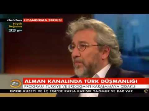 ALMAN TV 'SİNDE BİR ALMAN ERDOĞAN'I CAN DÜNDARIN ÖNÜNDE SAVUNDU
