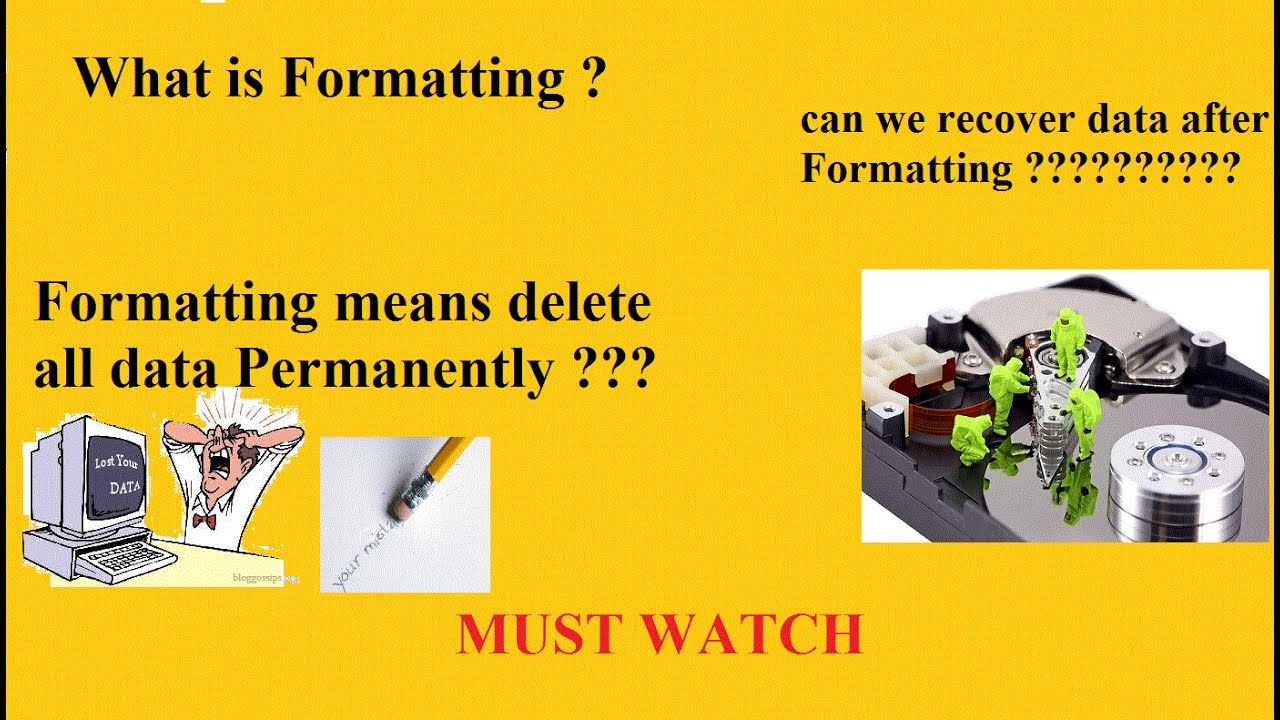 What is formatting 54