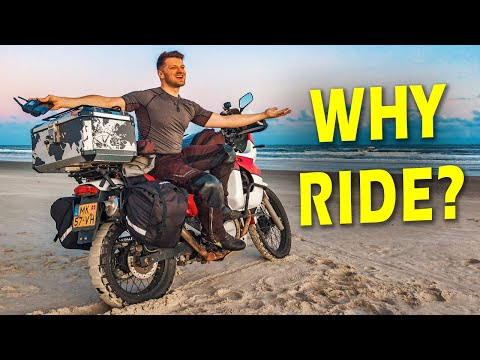 Why YOU SHOULD ride a MOTORCYCLE!