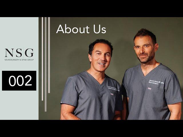 NSG- About Us (Dr. Amir Vookshoor & Dr. Jared Ament)