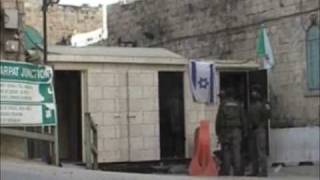 Palestina,Hebron:documentario interposizione pacifica ISM (2)
