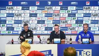 Pressekonferenz vor dem Spiel 1. FC Magdeburg gegen SSV Jahn Regensburg