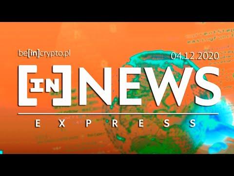 ETH 2.0 ruszyło, BTC za 300k$?, ETH dogania bitcoina - [in]NEWS Express - 29.11.2020