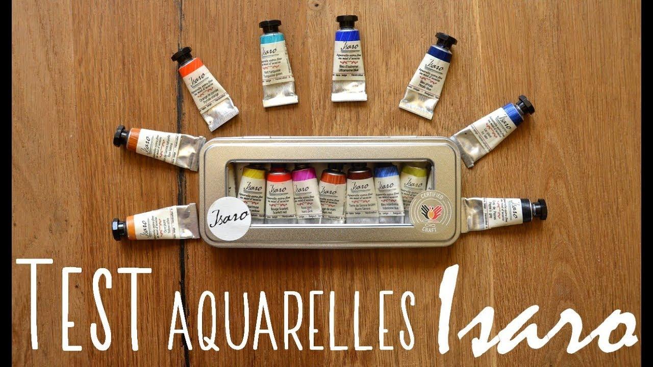 Presentation Des Aquarelles Isaro Youtube