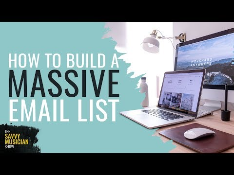 How to build an email list and sell more music | Email Marketing For Musicians Ep 13