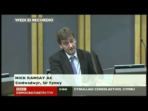 2013 01 09 Dadl Plaid Cymru ar yr iaith Gymraeg
