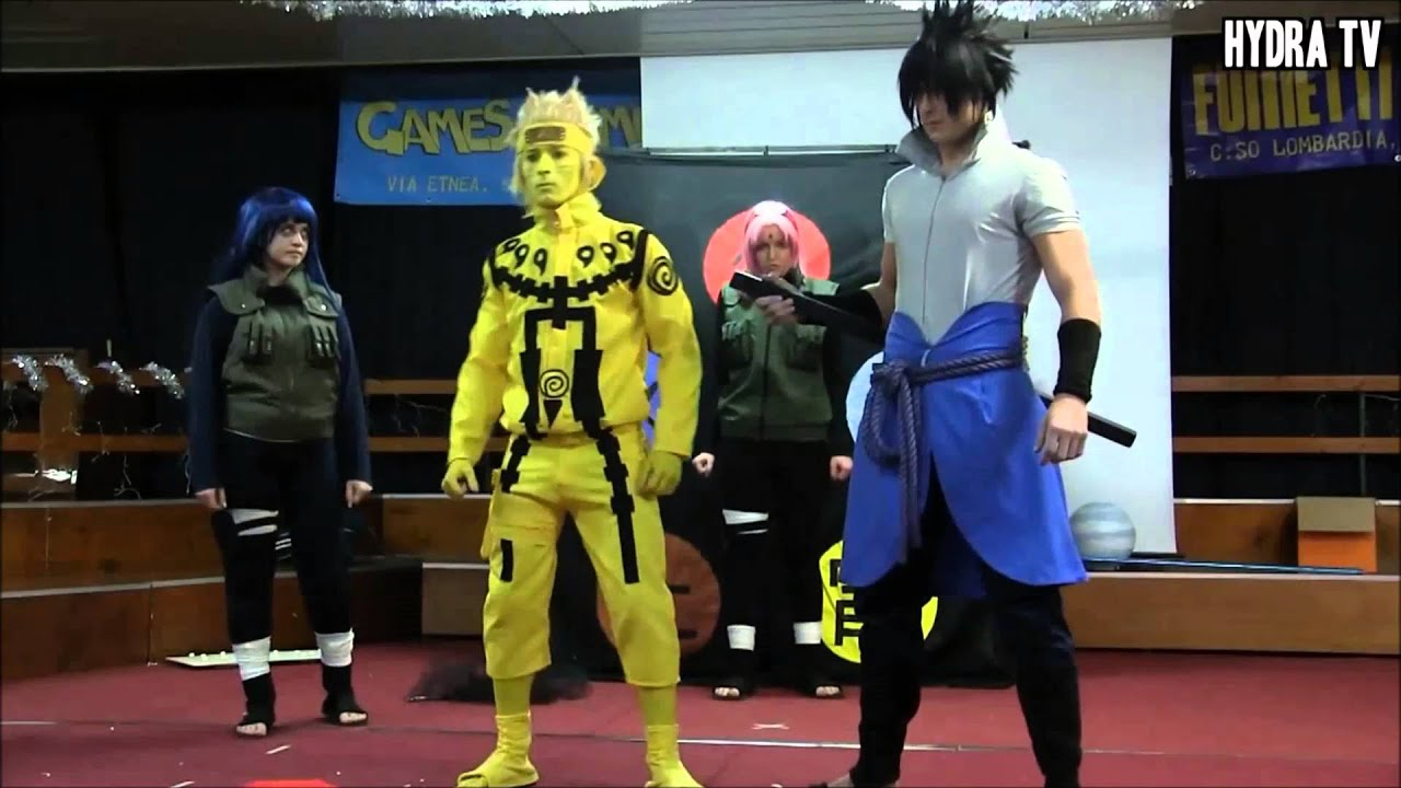 naruto cosplay contest youtube