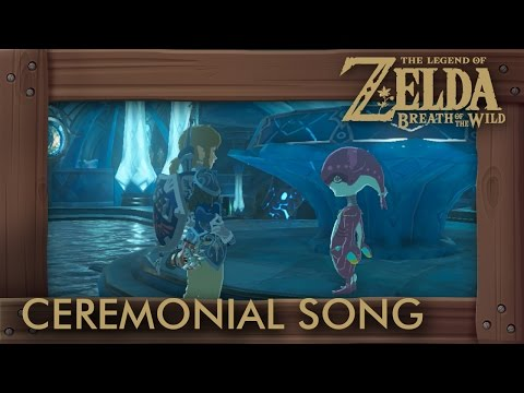 Zelda Breath of the Wild - The Ceremonial Song Shrine Quest