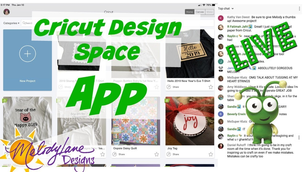 Navigating Cricut Design Space IOS App