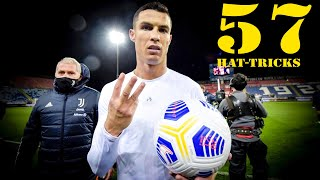 Cristiano Ronaldo - All 57 HAT-TRICKS In Career [2008/2021]