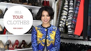 How To Sell Your Clothes For Cash