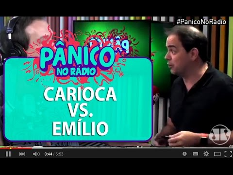 Emílio vs. Carioca - melhores momentos - Pânico