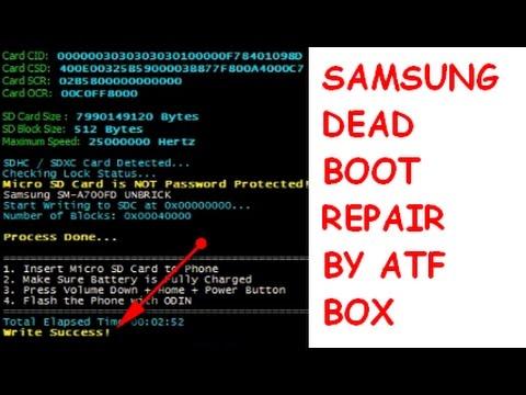 Samsung Galaxy G530H Fix Dead Boot with Repair Firmware