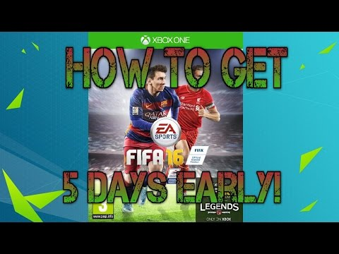 How To Play FIFA 16 5 Days Early For FREE! Xbox One