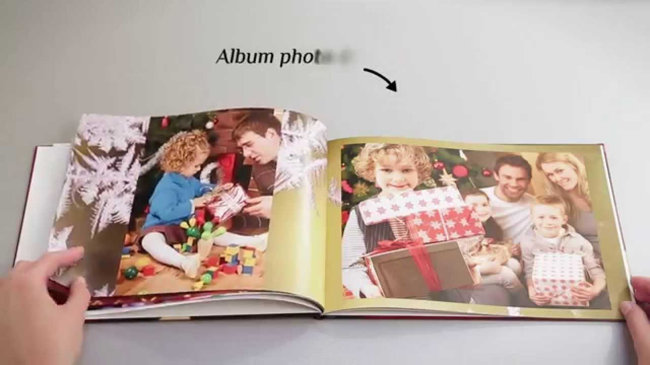 Livre Album Photo Avec Couverture Rigide Auchan Photo Youtube