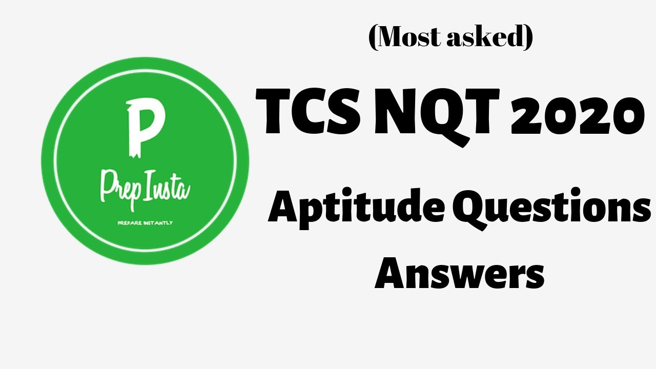TCS NQT Aptitude Questions with Solutions (Allegations and
