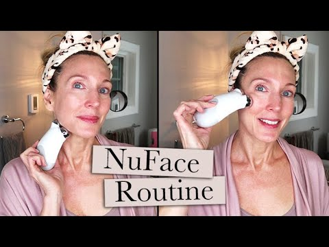 my-full-nuface-routine-in-real-time!