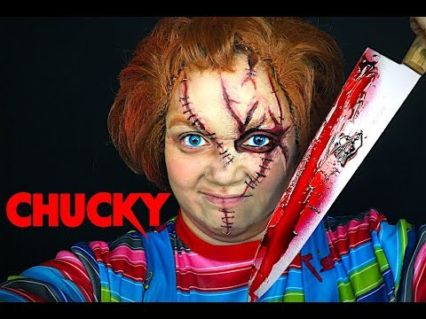 CHUCKY MAKEUP TUTORIAL!