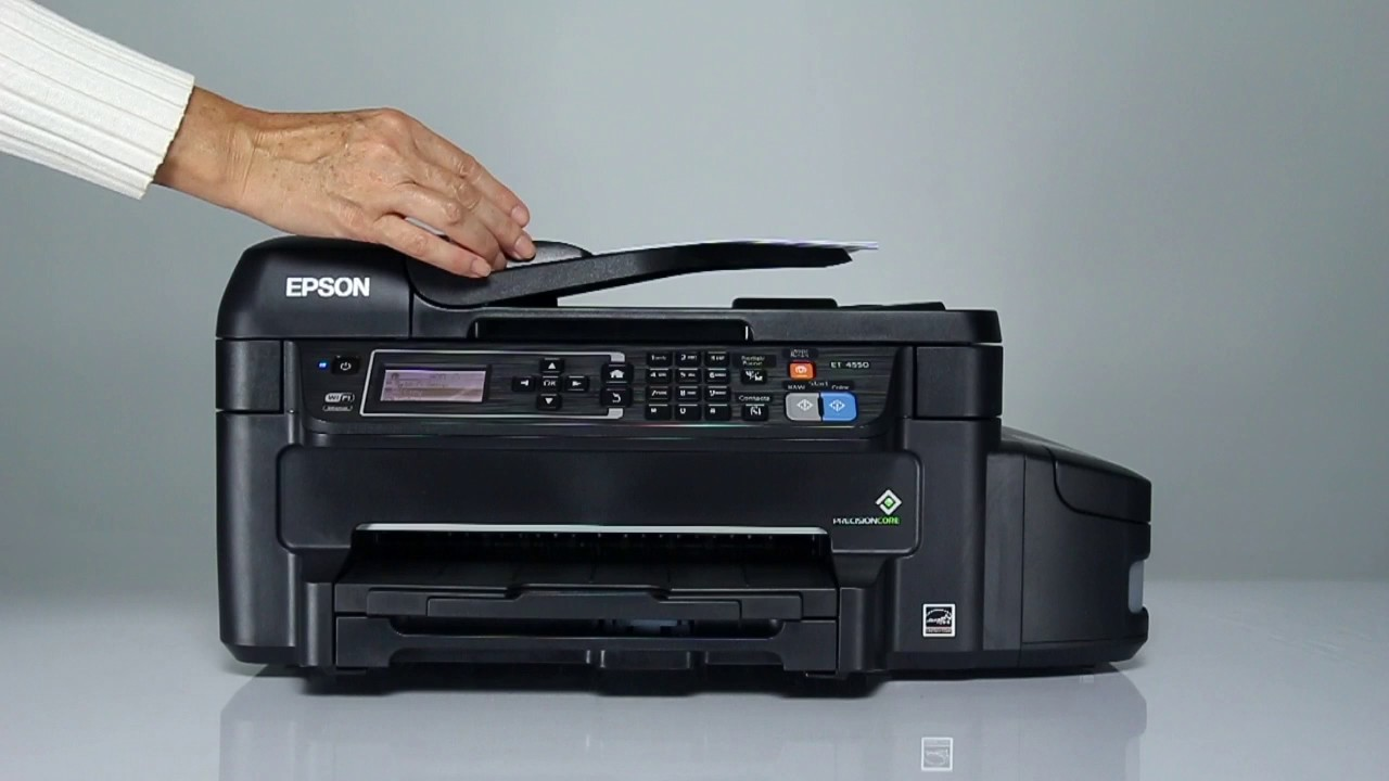 Epson WorkForce ET-4500 and ET-4550 | How to Copy Multi-Page Documents